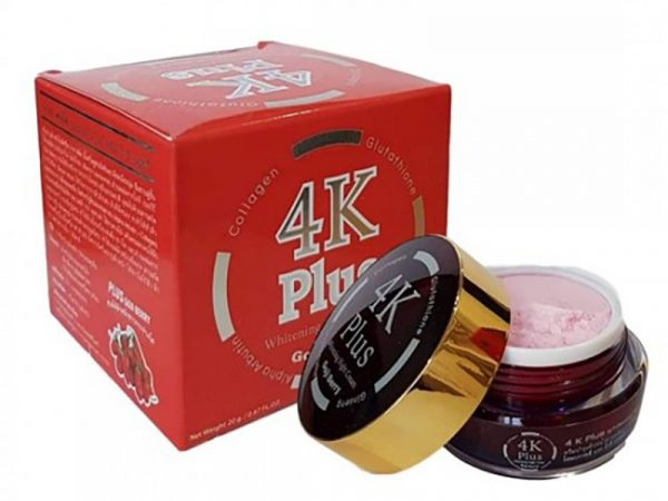 Kem Dưỡng Trắng Da Giảm Mụn Ban Đêm 4K Plus Whitening Night Cream Goji Berry