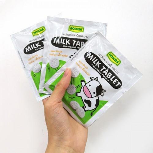 Kẹo Sữa Bò Roscela Milk Tablet Thái Lan