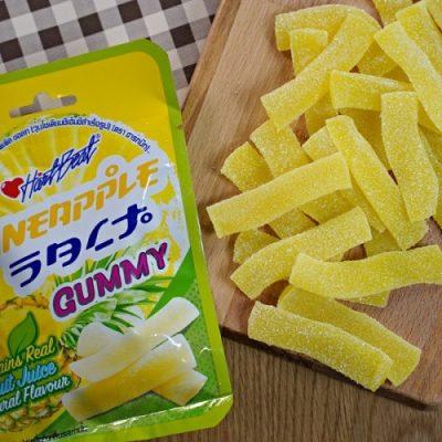 Kẹo Gummy Thơm Muối Hartbeat Gummy Pineapple Salt Thái Lan