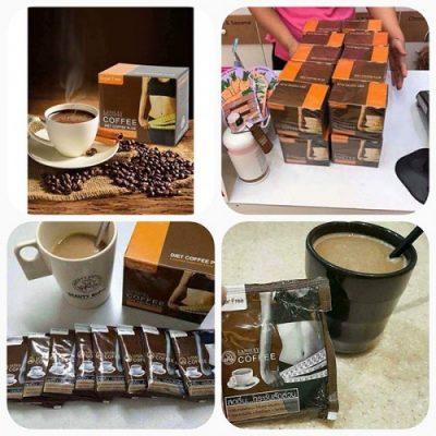 Cà Phê Giảm Cân LansLey Coffee Diet Coffee Plus Thái Lan