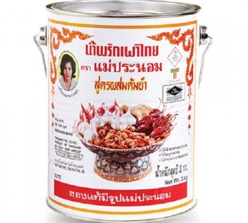 Dầu Sa Tế Nấu Lẩu Thái Maepranom Chili Oil For Tom Yum