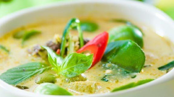 Gia Vị Cà Ri Xanh Maepranom Green Curry Paste 50g Thái Lan