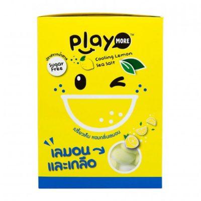 Hộp 12 Gói Kẹo Play More Chanh Muối 12g