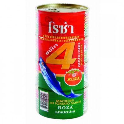 Hộp Cá Thu Sốt Cà Roza 185g Thái Lan