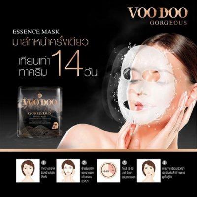 Mặt Nạ Dưỡng Da Voodoo Gorgeous Essence Mask Thái Lan