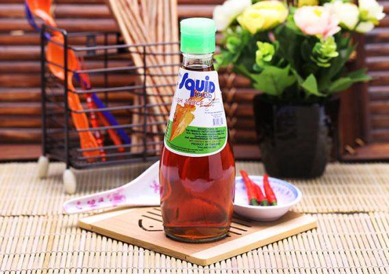 Nước Mắm Cá Mực Eufood Squid Brand Fish Sauce 300ml Thái Lan