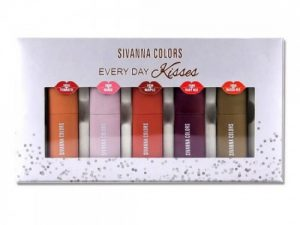 Set Son 5 Màu Sivanna Colors HF3005 Every Day Kisses Thái Lan