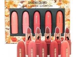 Set Son 5 Màu Sivanna Colors HF398-A Thái Lan
