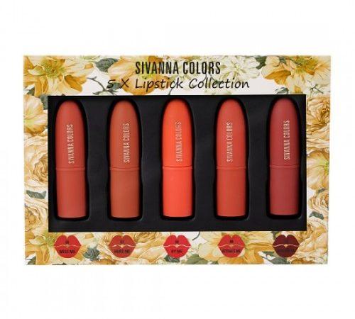 Set Son 5 Màu Sivanna Colors HF398-B Thái Lan