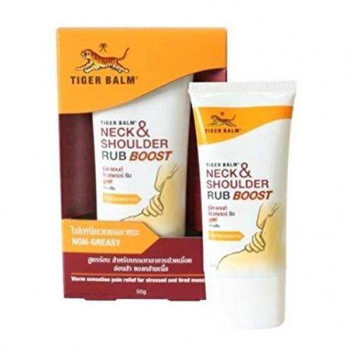 Dầu Xoa Bóp Cổ Và Vai Tiger Balm Neck & Shoulder Rub Boost 50g Thái Lan