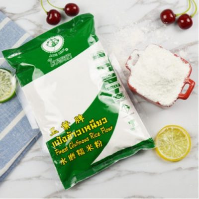 Tinh Bột Gạo Nếp Eufood Finest Glutinous Rice Flour Jade Leaf Thái Lan 400g