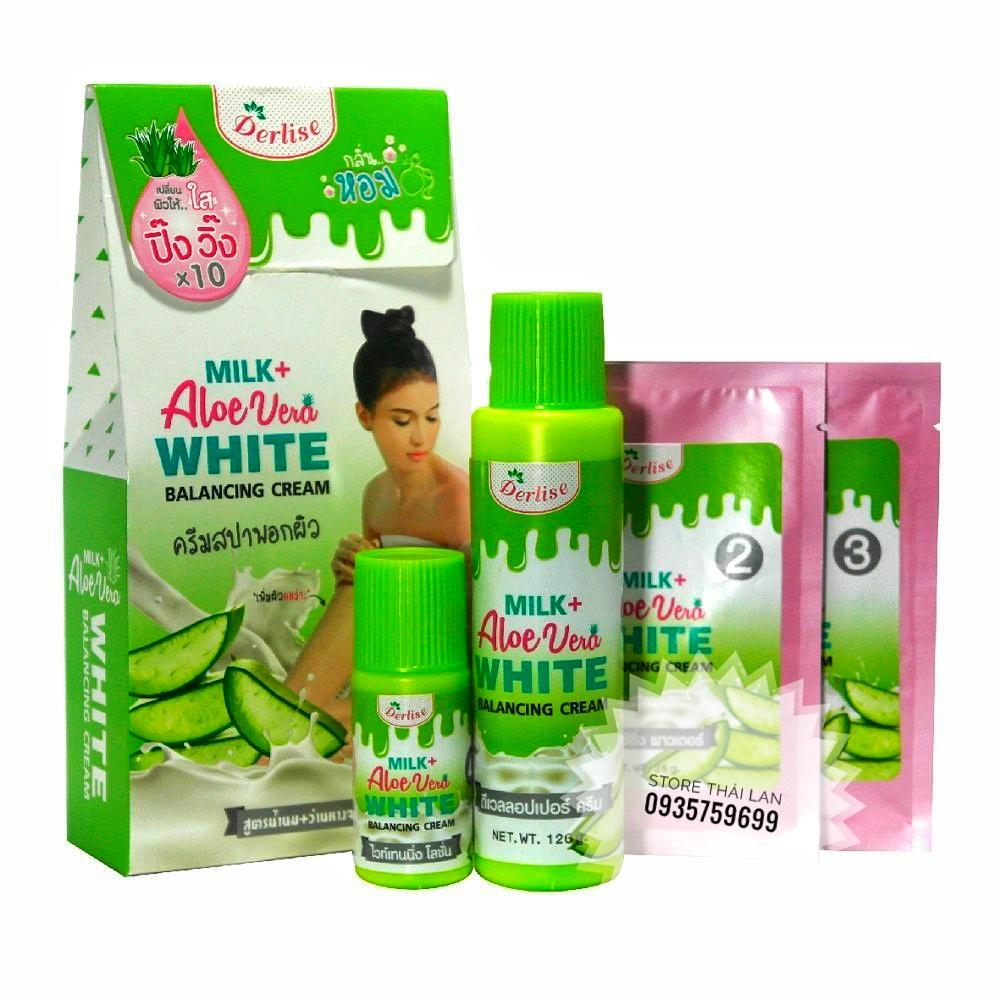 Bộ Kem trắng Derlise SPA Thái Lan