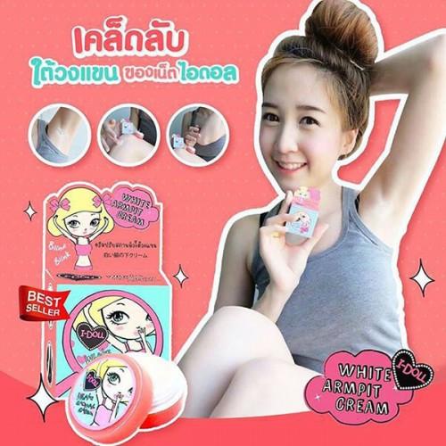 Kem Trị Thâm Nách I-DOLL White Armpit Cream 5g Thái Lan