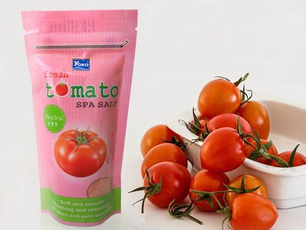 Muối tắm yoko Fresh Tomato Spa Salt Cà Chua Tươi